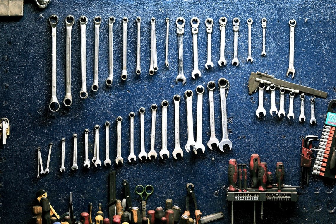 assorted cool garage tools